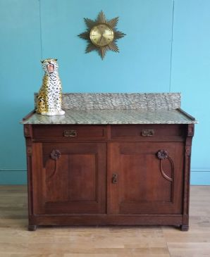 French marble topped buffet - SOLD